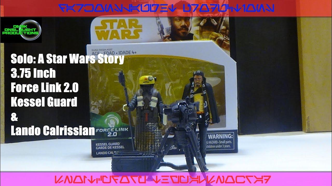 Star Wars Solo Lando Calrissian /& Kessel Guard 2-Pack Movie 3.75 Inch
