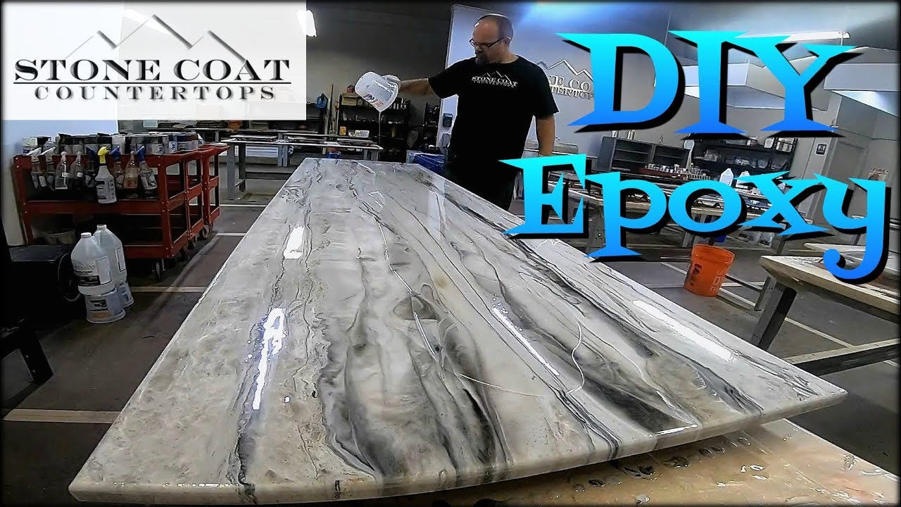 Stone coat countertops epoxy