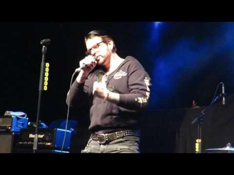 Black Star Riders - Ricky Warwick's speech on receiving Planet Rock Award - London -170317