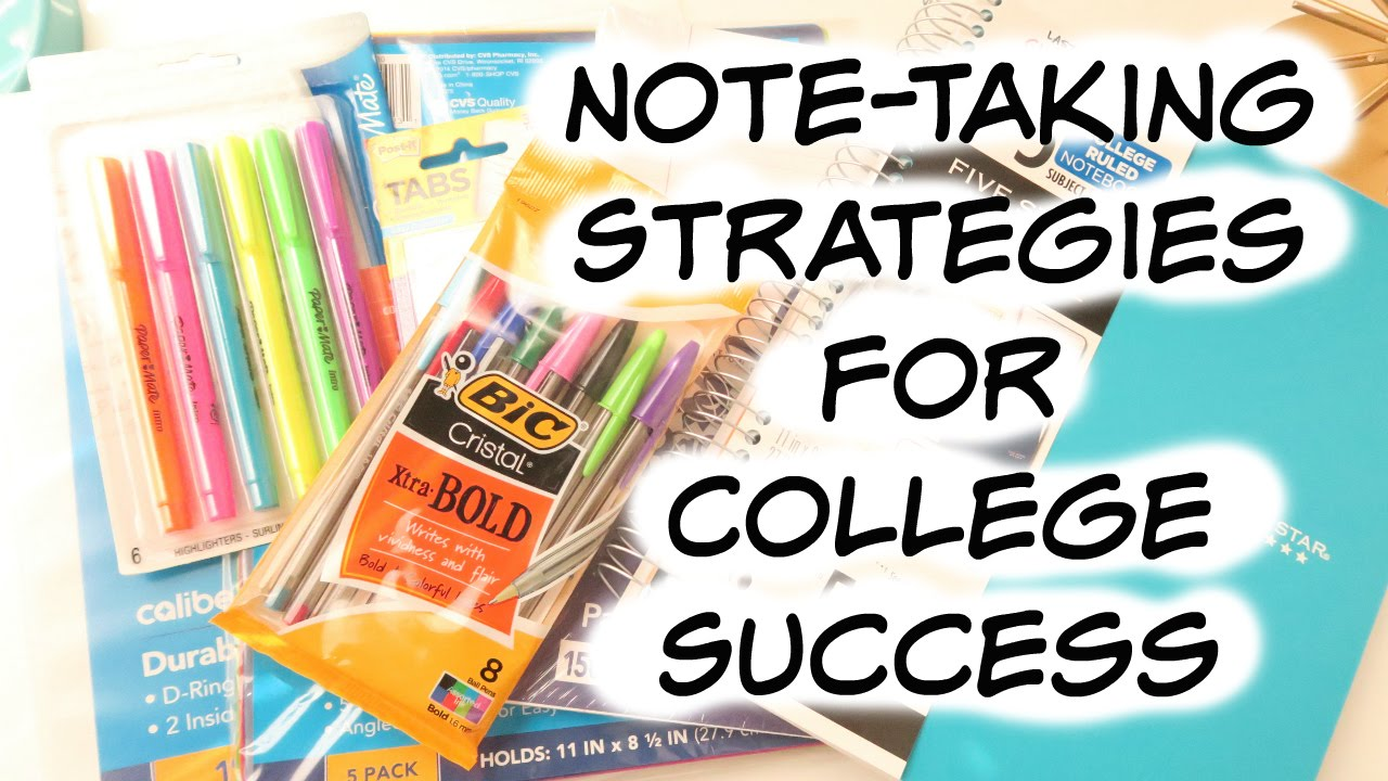 successful students take notes There are many ways to take notes helping to ensure u of i is a safe and engaging place for students to learn and be successful success strategies  note-taking.