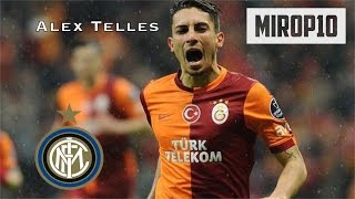 Alex Telles - The new Transfer of Inter |Skills||Galatasaray| 2014/2015