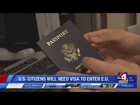 US Citizens Need Visas To Go To Europe