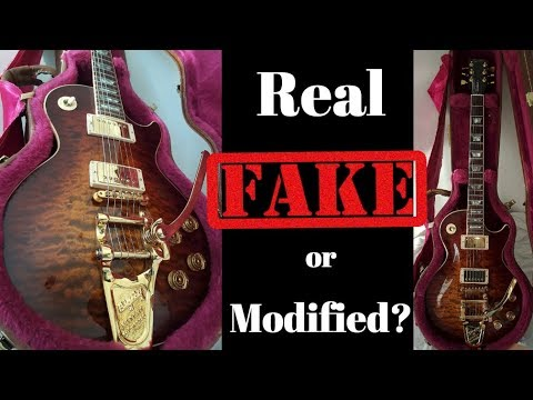 Real, Fake or Modified? Let's Discuss! 1983 Gibson Les Paul Standard Quilt Top