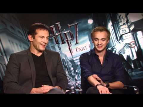 Jason Isaacs & Tom Felton: Harry Potter and the Deathly Hallows Junket