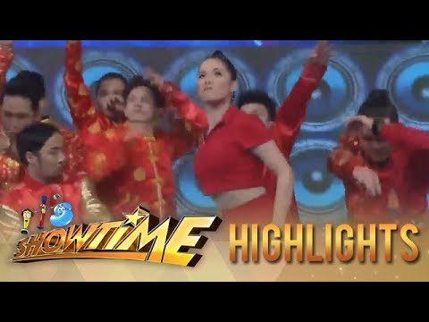 "It's Showtime: Maja's second version of ""Taga-Saan Ka?"" challenge"