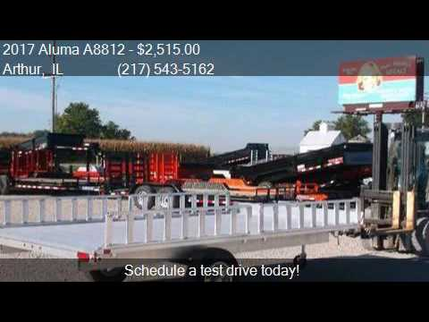 2017 Aluma A8812 Aluminum ATV Trailer for sale in Arthur, IL