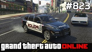 GTA 5 PC Online Po Polsku [#823] POLICJA w PORSCHE Cayenne /z Skie