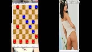 Game Strip shashki - gameplay