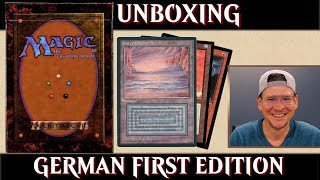 MTG Unboxing German First Edition Magic the Gathering |  Deutsche Erstauflage | Trader Spoiler FBB