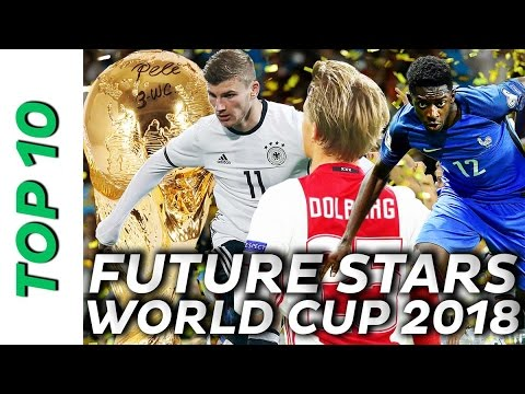 Top 10 Talents - The Stars of World Cup 2018 🚀