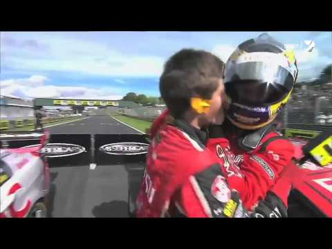Scott McLaughlin talks about racing at Pukekohe in 2014