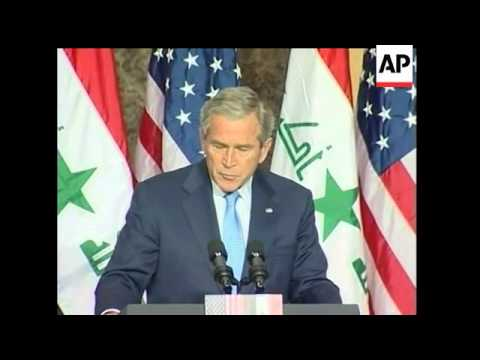 President Bush has told Iraqi Prime Minister Nouri al-Maliki the United States is willing to make ch