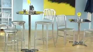 Cafe-B Aluminum Bar Stool