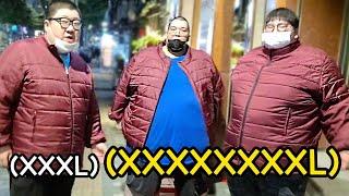 빅3 한국에선 구할 수 없는 8XL 패딩 단체복 구매했…