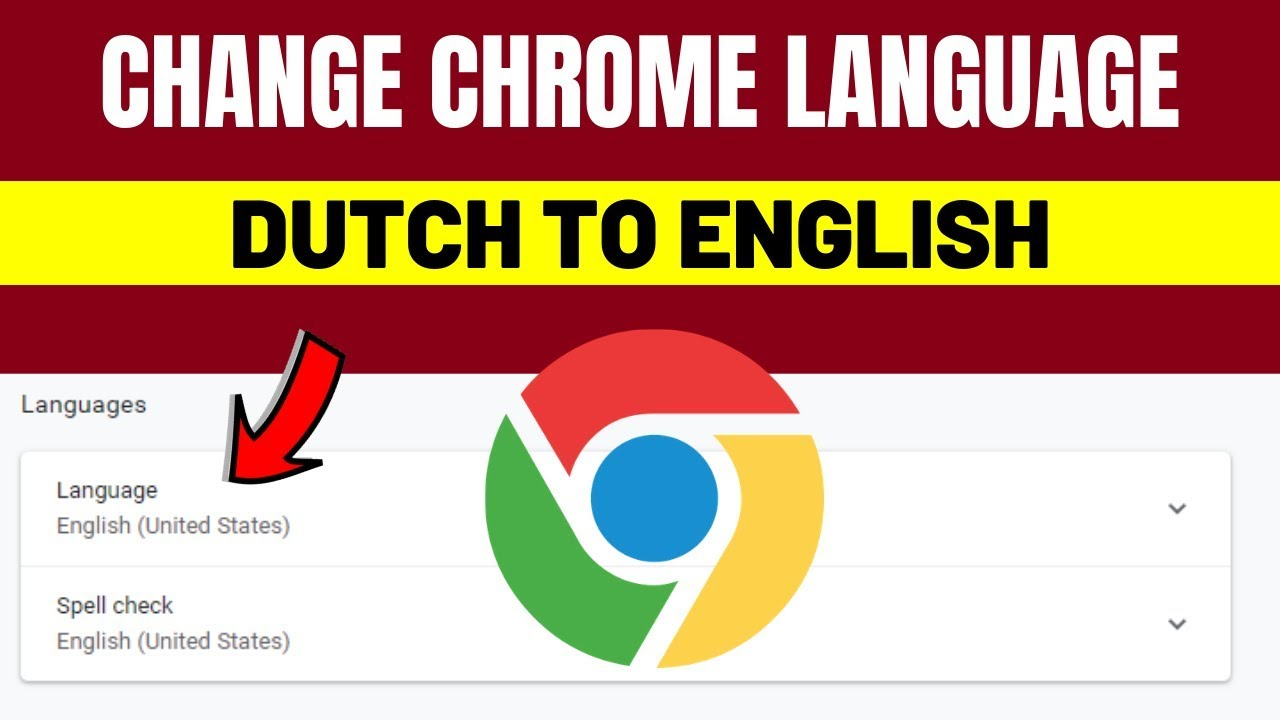 Change Chrome Language From Dutch To English 2019 How To Change Chrome Language Into English Youtube
