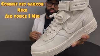 Sneaker Appointment: Commes Des Garcon x Nike Airforce 1 Mid Review/On Feet ( minor Zara Haul)