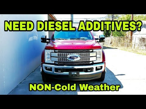 Should you use Diesel Additives?