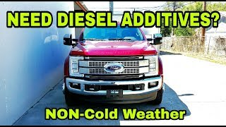 Should you use Diesel Additives?