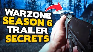 *NEW* Warzone Season 6 Trailer - 13 CONFIRMED Updates - New weapons, Zombies + MORE!