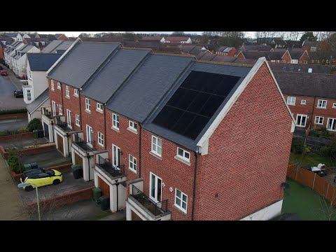 In Roof Solar PV Domestic Installation by Spirit Energy