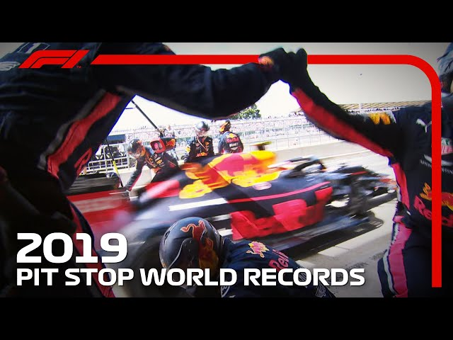 World Record F1 Pit Stops   Red Bull Racing Register The Fastest Pit Stop Three Times!