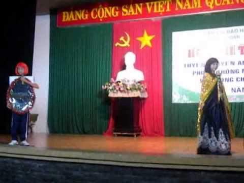 Kịch an toàn giao thông   Thiếu nhi phường Linh Xuân