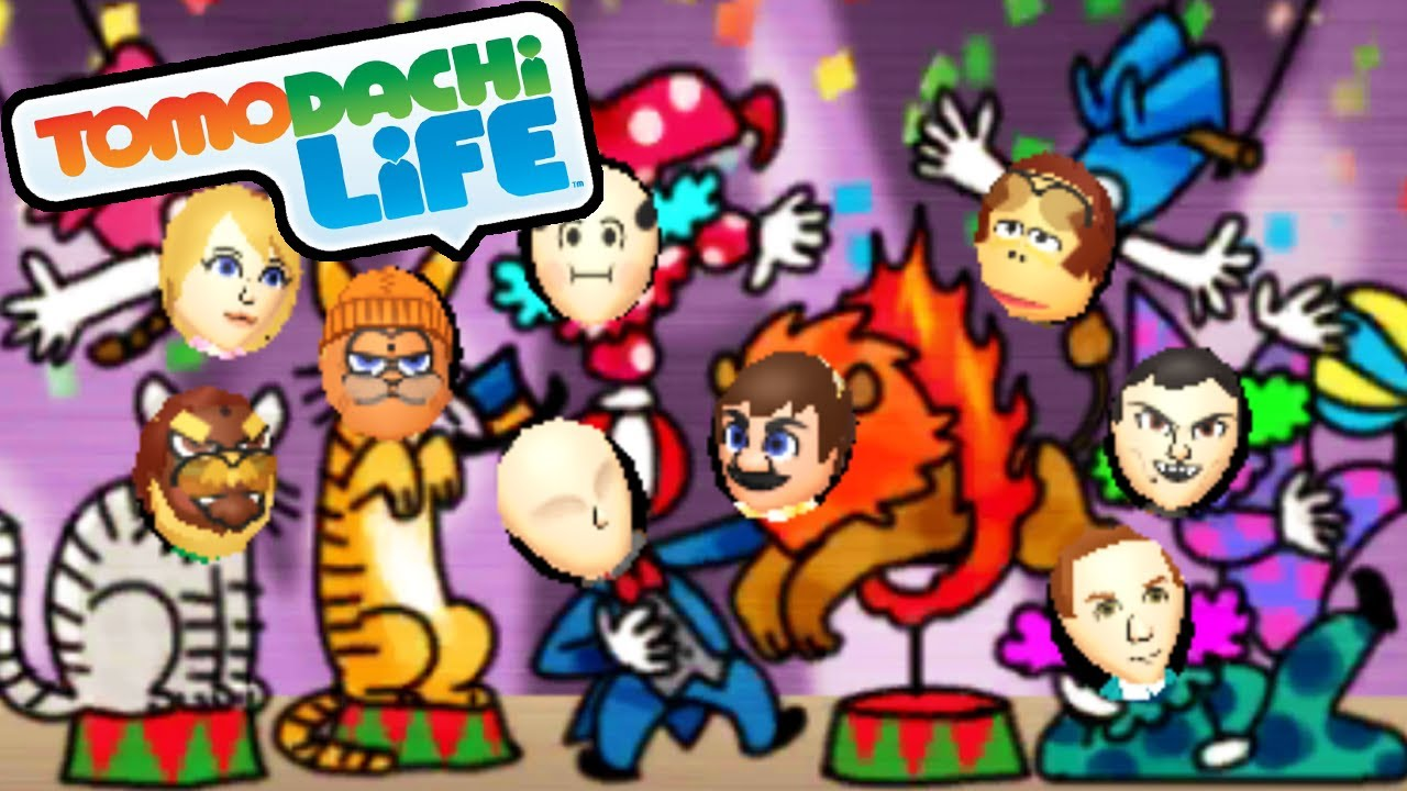Tomodachi Life 3DS Adventure Time Miis Group Photo Fun
