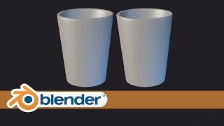 Modeling Gelas - Modeling Glass in Blender | Bahasa Indonesia