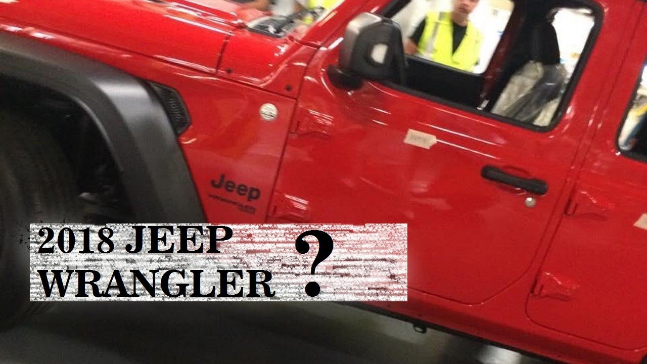 Hot News 2018 Jeep Wrangler Unlimited Redesign Interior Spy Shots And Release Date