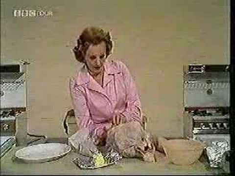 Fanny Cradock Cooks For Christmas Christmas Bird Pt 1