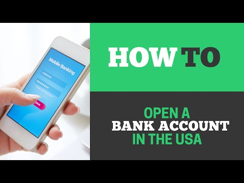 [130] How To Open A Bank Account In The US Without Going There?