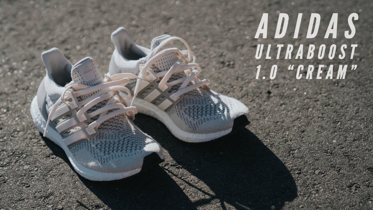 Đập Hộp + Đánh giá + On Feet đôi Adidas Ultraboost 1.0 Cream (Restock 2018) – Hung Dinh