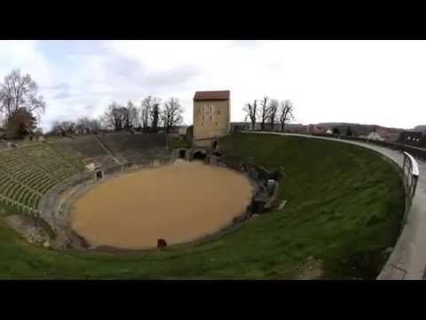 Avenches  -  Suisse / Schweiz  -  Time Lapse