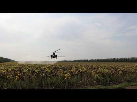 кукурузники на  вертолеты работа тружеников полей