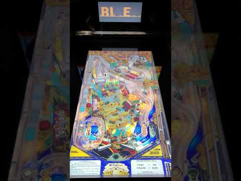 Arcade1up Pinball Whitewater Gameplay from Kevin F
