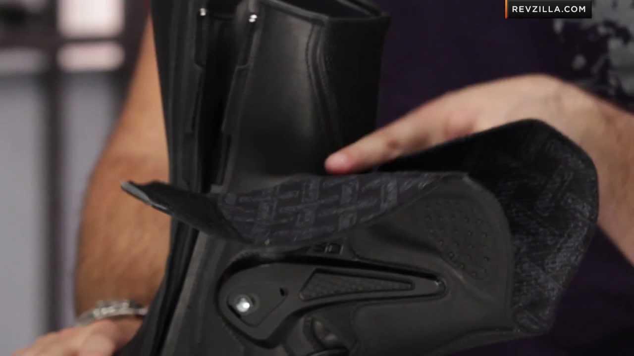Size 43 Sidi Armada Gore-Tex Crossover Motorcycle Boot Black