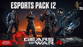 13 ESports Supporter Pack Opening 12 - Black Steel Palace Guard!! - Gears of War 4