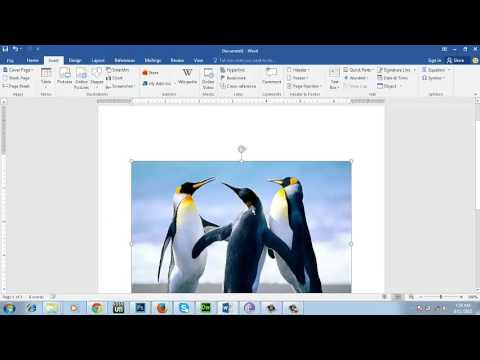 How To Insert Online Picture In Ms-word 2016