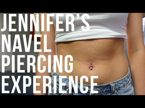 Jennifer's Navel / Belly Button Piercing Experience | UrbanBodyJewelry.com thumbnail