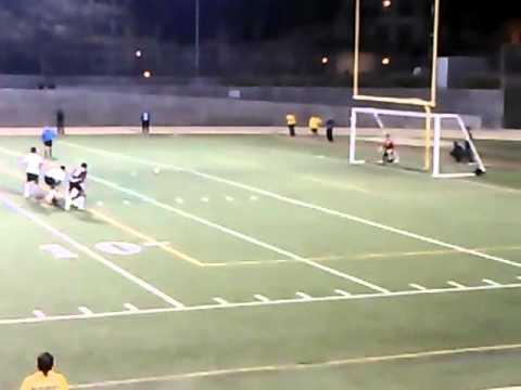 Fremont's penalty kick at CIF finals 2012