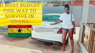 My Monthly Budget For Living in Ghana  Expenses in Ghana