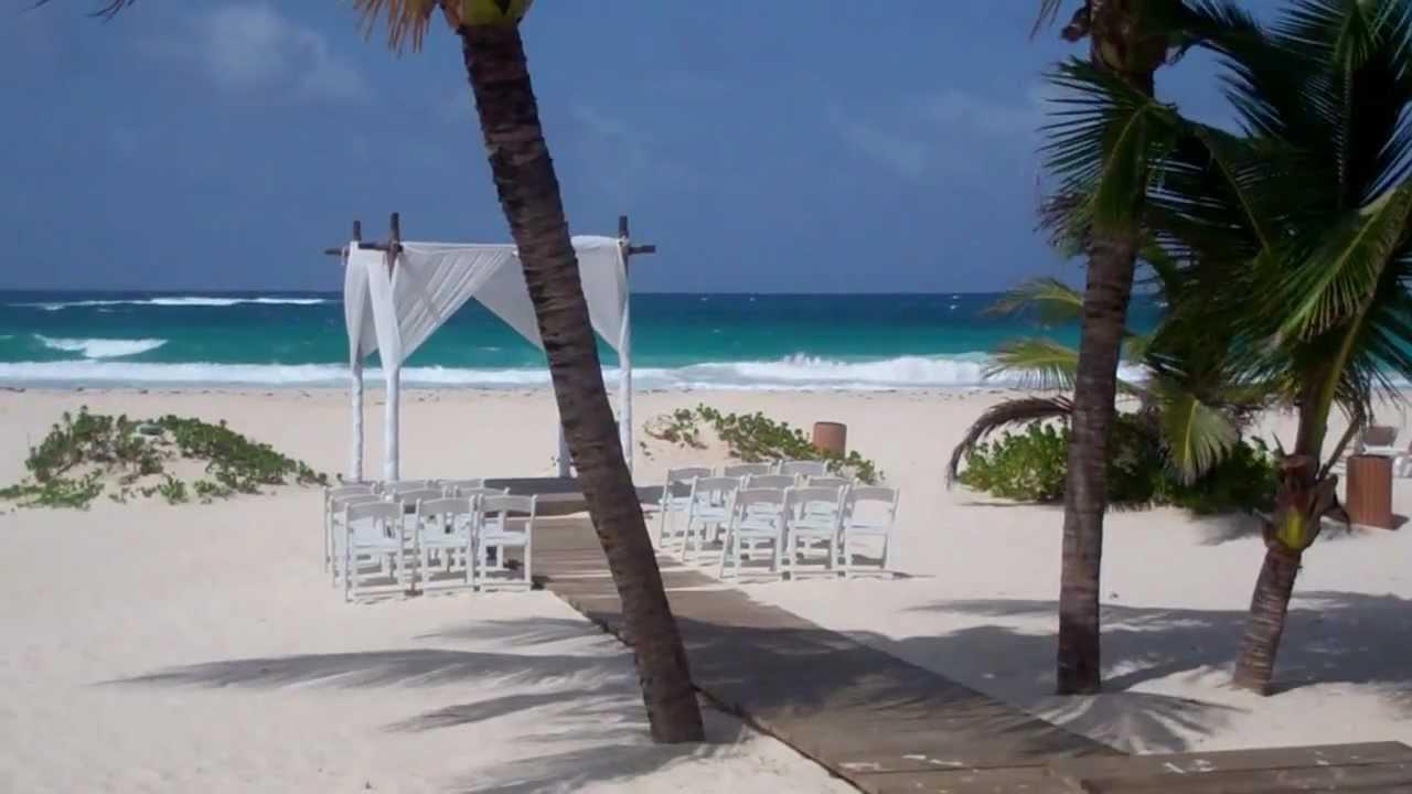 Rock Punta Cana Beach Wedding Amp Beach Gazebo Location