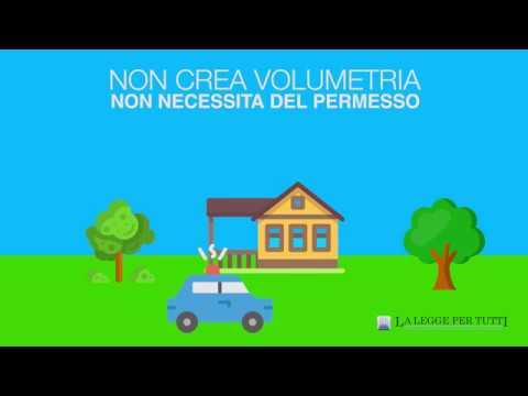 Come costruire una tettoia sul terrazzo in maniera legale - YouTube