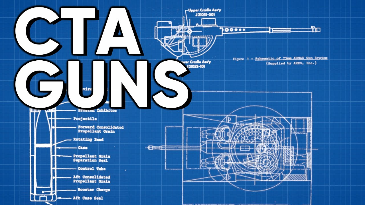 CTA Cannons – Future Tank Weaponry