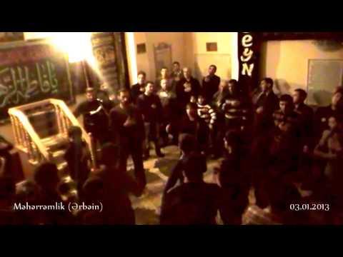 Hacı Qafur _ Məhərrəmlik (Ərbəin) - əzadarlıq (03.01.2013)