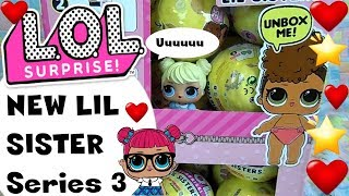 LOL SURPRISE #43 LIL SISTER serie 3 Buffissima ^_^ Unboxing By Lara e Babou