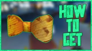 How to Get: DIY Cardboard Bow Tie // ROBLOX Eventical