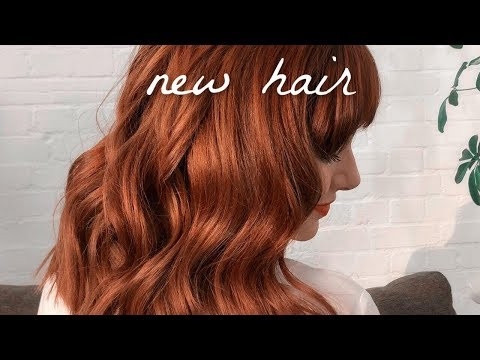 Brunette To Redhead! HAIR TRANSFORMATION STORYTIME | Melanie Murphy - ad