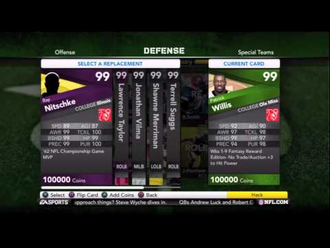 Ghost Kreutz Giveaway and Lineup Update Madden 12 Ultimate Team