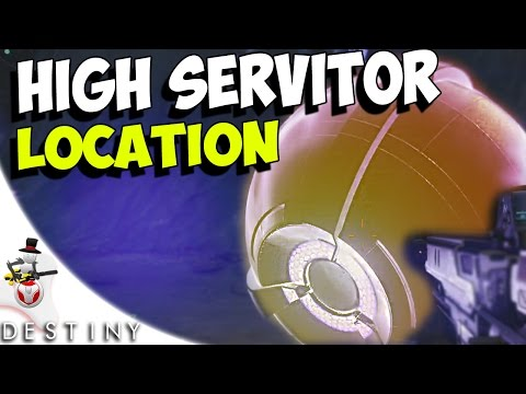 WOLF HIGH SERVITOR Location - Moon - Temple Of Crota Guide - Destiny Bounty Hunt - House Of Wolves